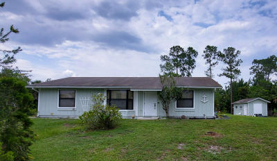 Loxahatchee Single Family Home Contingent: 13177 40th Street