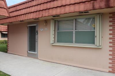 Delray Beach Single Family Home For Sale: 21 Valencia A #A