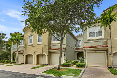 Palm Beach Gardens Townhouse For Sale: 4901 Bonsai Circle #107
