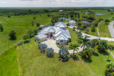 Stuart Single Family Home For Sale: 2937 SW Trailside Path