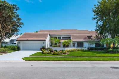 Boca Raton Single Family Home Contingent: 4193 Bocaire Boulevard