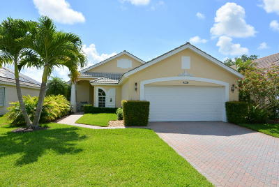Hobe Sound Single Family Home For Sale: 12175 SE Banner Lake Circle