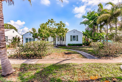 West Palm Beach Single Family Home For Sale: 717 Rockland Drive