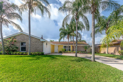 Jupiter Single Family Home For Sale: 4182 Wingo Street