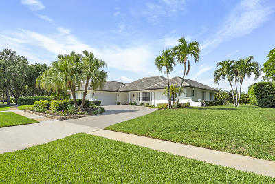 West Palm Beach Single Family Home Contingent: 2401 Embassy Drive