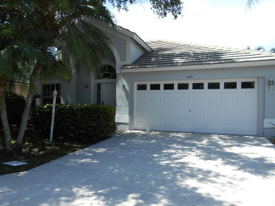 West Palm Beach Single Family Home Contingent: 4131 Culpeper Court