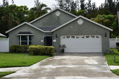 West Palm Beach Single Family Home For Sale: 5277 Fox Trace