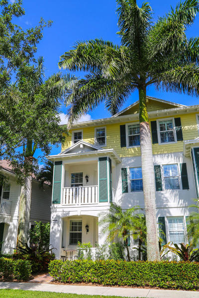 Jupiter Townhouse For Sale: 3247 E Community Drive