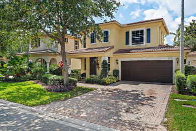Palm Beach Gardens Single Family Home For Sale: 372 Columbus Street