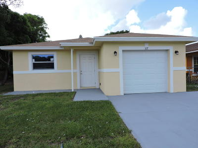 West Palm Beach Single Family Home For Sale: 1117 Windsor Avenue