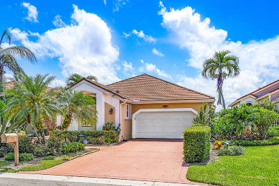 Palm Beach Gardens Single Family Home For Sale: 12780 Oak Knoll Drive