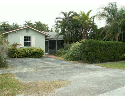 West Palm Beach Single Family Home For Sale: 5203 Cannon Way