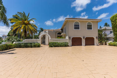Mizner Court, Mizner Court Cond I, Royal Palm Yacht & Cc, Royal Palm Yacht & Country Club, Royal Palm Yacht And Country Club, Royal Palm Yacht And Country Club Sub In Pb 26 Pgs, Royal Palm Yacht And Country Club Subdivision Single Family Home For Sale: 217 Thatch Palm Drive