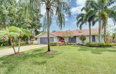 Boynton Beach Single Family Home For Sale: 2814 SW 6th Street