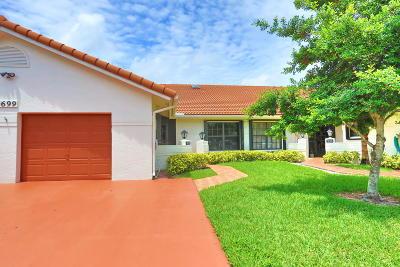 Boynton Beach Single Family Home For Sale: 9699 Pavarotti Terrace #102