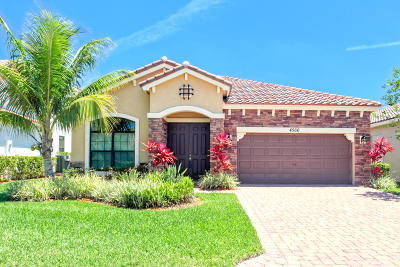 Lake Worth Single Family Home For Sale: 4566 Sandy Cove Terrace