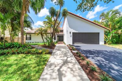 Boca Raton Single Family Home Contingent: 8911 Escondido Way E