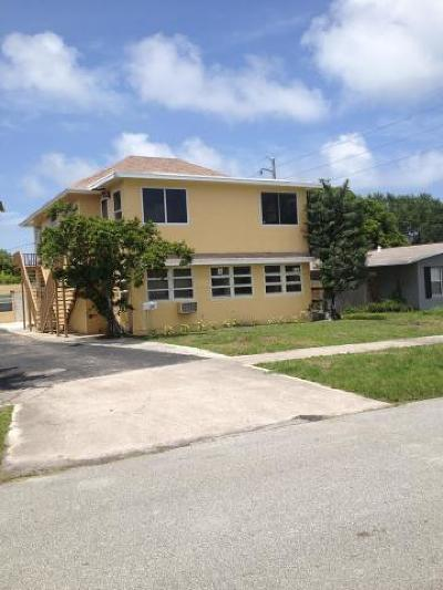 Lake Park Multi Family Home For Sale: 305 Cypress Drive #1
