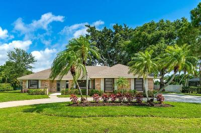 Tequesta Single Family Home Contingent: 55 SE Turtle Creek Drive