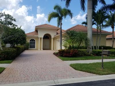 West Palm Beach Single Family Home Contingent: 10175 Sand Cay Lane