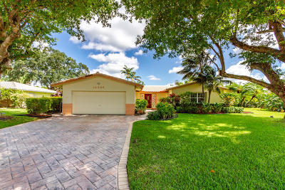Coral Springs Single Family Home For Sale: 10385 NW 42nd Drive