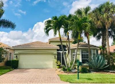 Lake Worth, Lakeworth Single Family Home For Sale: 8163 Alberti Dr