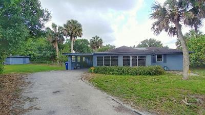 Vero Beach Single Family Home For Sale: 1010 20th Avenue