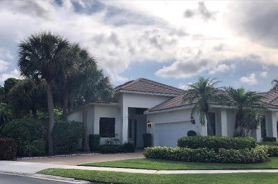 Boca Raton Single Family Home Contingent: 17279 Ryton Lane