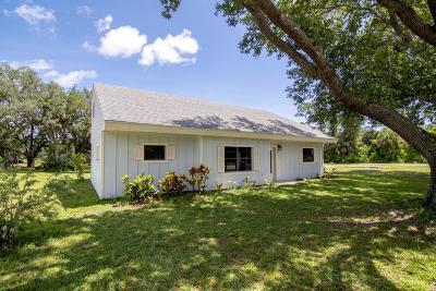 Vero Beach Single Family Home For Sale: 4690 65th Street