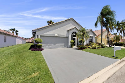 Delray Beach Single Family Home Contingent: 14080 Fair Isle Drive