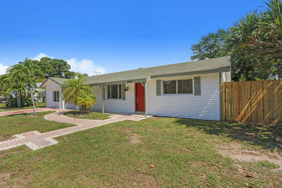 Palm Beach Gardens Single Family Home For Sale: 3275 Atlantic Road