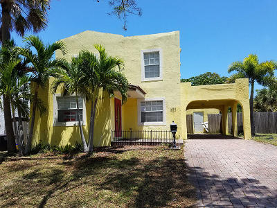 West Palm Beach Single Family Home For Sale: 953 39th Court