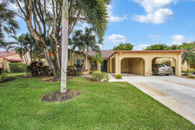 Boynton Beach, Gulf Stream Single Family Home For Sale: 6005 Forest Grove Drive #1