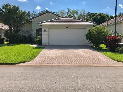 Saint Lucie West Single Family Home Contingent: 493 SW Talquin Lane