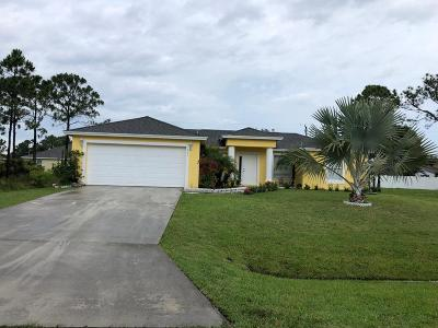 Saint Lucie West FL Rental For Rent: $1,650