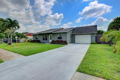 West Palm Beach Single Family Home For Sale: 1434 E Libby Drive