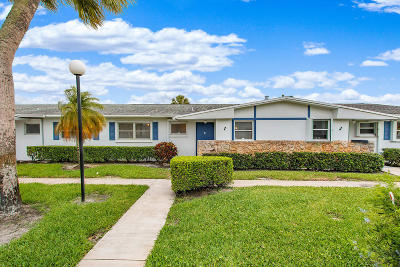 West Palm Beach Single Family Home For Sale: 2689 Emory Drive W #I
