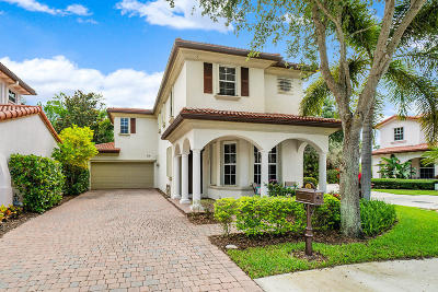 Palm Beach Gardens Single Family Home Contingent: 710 Duchess Court