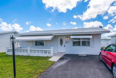 Boynton Beach Single Family Home For Sale: 1000 SW 6th Avenue