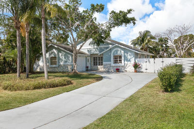 Delray Beach Single Family Home For Sale: 5211 Sunrise Boulevard