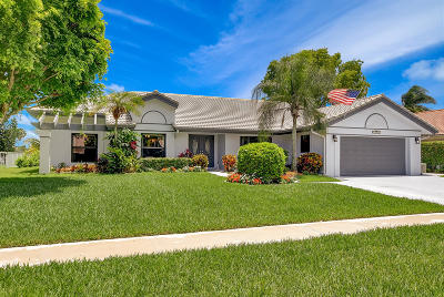 Boca Raton Single Family Home For Sale: 11751 Island Lakes Lane