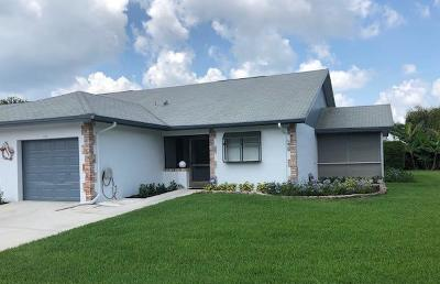 Jupiter Single Family Home For Sale: 167 Moccasin Trail