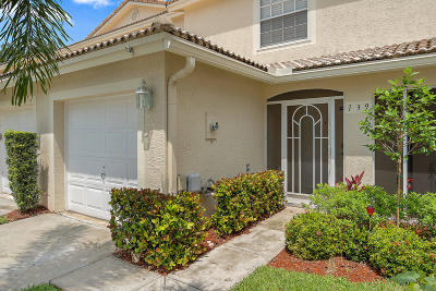 Jupiter Townhouse For Sale: 139 Fox Meadow