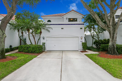 Boca Raton Single Family Home For Sale: 21710 Cromwell Circle