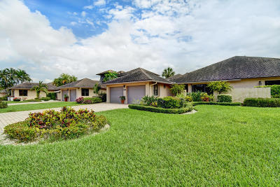 Boca Raton Single Family Home For Sale: 19698 Waters Pond Lane #703