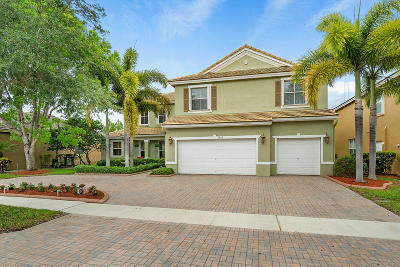 Lake Worth Single Family Home For Sale: 9868 Salt Water Creek Court