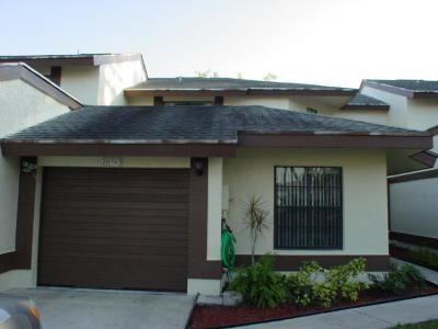 Boca Raton Townhouse For Sale: 20965 Boca Ridge Drive W