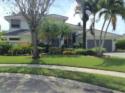 Boca Raton Single Family Home For Sale: 9695 W Lake Court