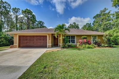 Loxahatchee Single Family Home For Sale: 16628 82nd Road