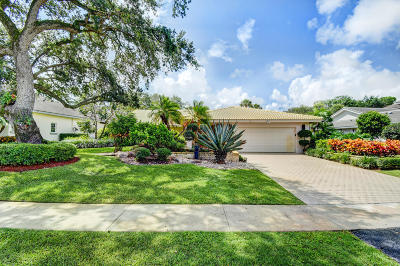Delray Beach Single Family Home For Sale: 4450 Live Oak Boulevard